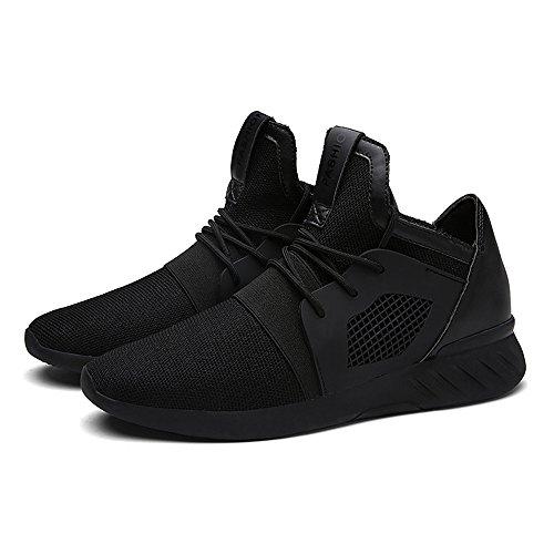 Bequeme Herren Breathable Casual Schuhe Mode Sneaker Männer Lace Sommer Schuhe XIANV Frühjahr Schwarz Schuhe Mesh up Männer Soft 6wq055