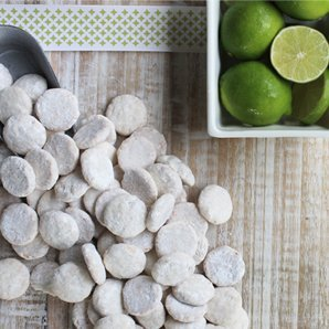 Byrds Famous Cookies -Bite Size 16 Oz. Bag Key Lime Coolers ()
