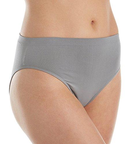 Cut Brief High Panty (Rhonda Shear Ahh Seamless High-Cut Brief Panty (4031) M/Gray)