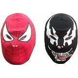 Official Marvel Spiderman & Venom Kid's Cotton Masks (Set of 2)