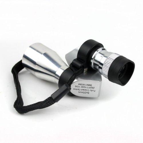 SODIAL(R) 8X20 Mini Compact Monocular Telescopes Focus Adjustable Pocket Outdoor Sports