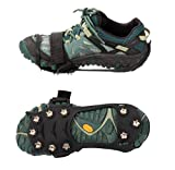 Ice Crampons - Traction Cleats Crampons, Spikes, Anti-Skid Traction Grips, Ice Traction