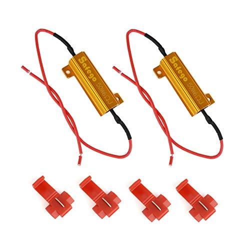 Safego 2 x 50 W 6 ohm belastingsweerstand voor LED SMD knipperlichten foutcode fixeren