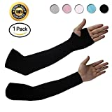 Achiou Arm Sun Sleeves UV Protection Cooling for Men Women...
