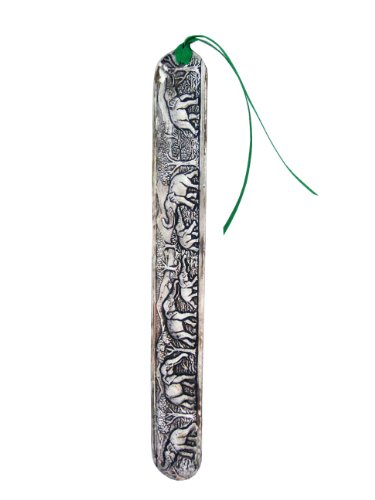 1 X Beautiful Elephant Thai Handmade Bookmarks