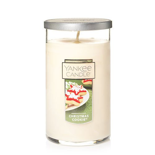 Pillar Candle Sugar Cookie (Yankee Candle Medium Perfect Pillar Candle, Christmas Cookie)
