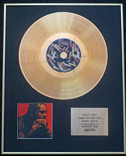 Century Presentations - Post Malone - Exclusive Limited Edition 24 Carat Gold Disc - Stoney