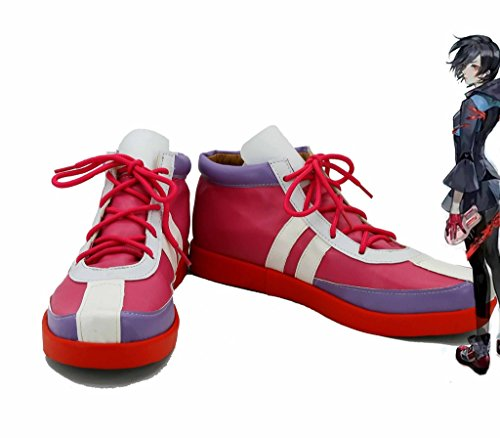 Tokyo Ghoul Anime Kirishima Touka Cosplay Shoes Boots Custom Made Red