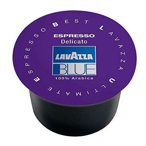 Lavazza BLUE Capsules, Espresso Delicato Coffee Blend, Medium Roast, 28.2-Ounce Boxes (Pack of 100) ()