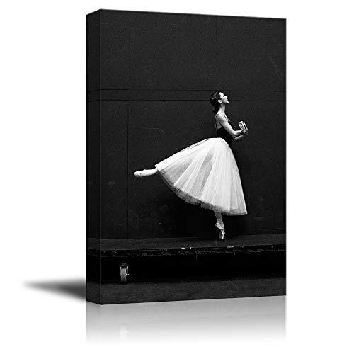 Dance Girl Black and White