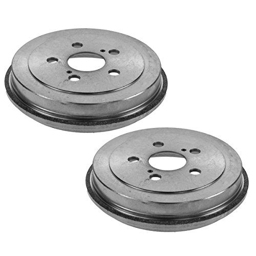 (Brake Drum Rear Left LH & Right RH Pair for Toyota Celica Corolla Prius)