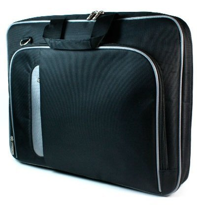 - New Black Laptop Case Airport Check-Point-Friendly Bag for 13