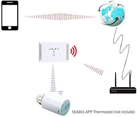 KKmoon Smart Bridge para termostato, centro de control inteligente ...