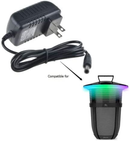UpBright 14V 1A AC//DC Adapter Compatible with Acoustic Research AR Santa Clara Sans fil Bluetooth 10 W 20 Watt Sound Speaker AWSEE3 AWSEE3BK AWSEE2 AWSEE2BK AWSEE320BK AWSBT10BK Power Battery Charger