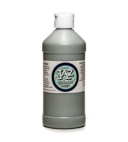 (Van Aken International – Jazz – Window Prep – VA49507 – Glass and Water Fountain Preparation and Cleaner – 16 Ounce Bottle – Non-Toxic, Eco-Friendly)