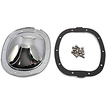 Assault Racing Products A9589PBK for Chrysler//Plymouth//Dodge 10 Bolt 8.25in Ring Gear Black Steel Rear Differential Cover