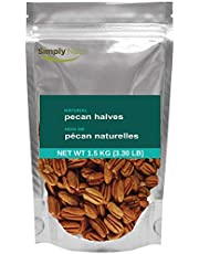 Simply Nuts Wholesale Raw Pecans Halves, 1.5Kg, 6Kg, 11.35Kg (1.5KG ($3.19/100g))