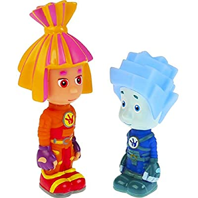 Fixies Nolik and Simka Bath Toys - Russian Doll Toy Cartoon Fiksiki - Фиксики Нолик и Симка: Toys & Games