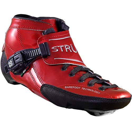 Atom Luigino Strut Inline Skate Boot (Size 13J, Red)