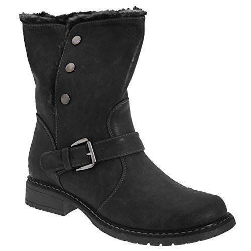Femme Eyes Motard Bottines Fauve Style Cats qBpvawxSq