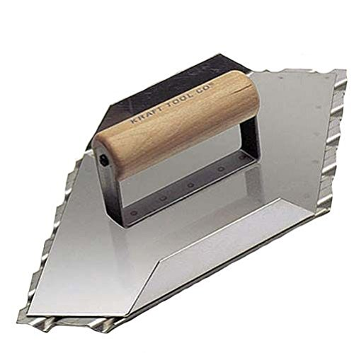 Kraft Tool CF083 Safety Ramp Hand Left Groover 3/4-Inch Spacing, 13-1/2 x 5-1/2-Inch