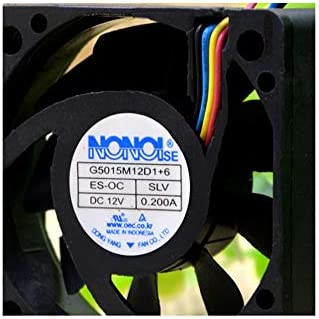Cytom for New NONOISE G5015M12D1+6 12V 0.200A Car Audio Cooling Fan 5015