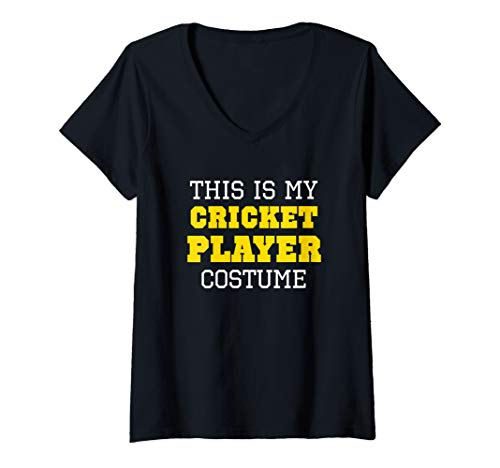 Womens This Is My Cricket Player Costume
