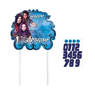 Disneys Descendants 3 Customizable Cake Decoraton: Toys & Games