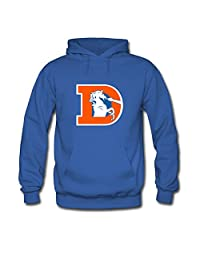 Denver Broncos Logo For Mens Hoodies Sweatshirts Pullover Tops