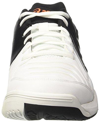 shocking Gel game Asics Hombre Blanco De white Orange Tenis black Para 6 Zapatillas pP44q6w