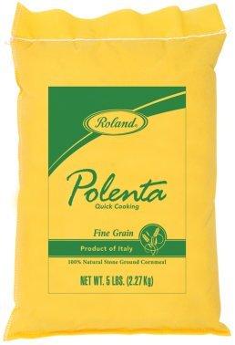 Roland: Fine Grain Polenta 5 Lb (4 Pack) by Roland