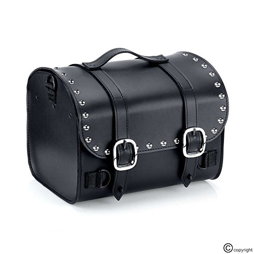 Nomad USA Leather Motorcycle Trunk Bag w/Quick Release ()
