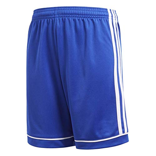 (adidas Youth Soccer Squadra 17 Shorts, Bold Blue/White, Medium )
