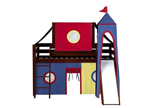 bunk beds for kids low slide - 6