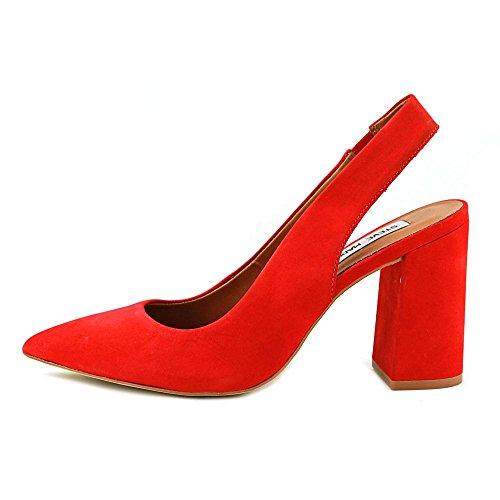 Sandalia Steve Madden Dove en gamuza rojo Rojo