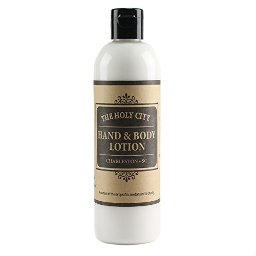 Holy City Skin Products Natural Moisturizing Hand and Body Cream Skin Rejuvenating Lotion - Lemon Grass