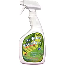 Eco Living Friendly Bed Bug Killer/Non-Toxic, Natural, and Safe Bedbug Spray/ELF 32 Ounce