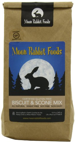 Moon Rabbit Gluten Free Country Biscuit and Scone Mix, 12.9-Ounce (Country Biscuit)