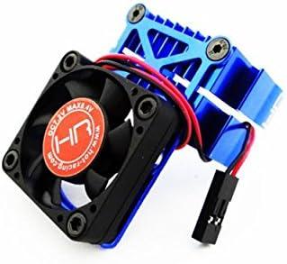 Hot Racing Tamiya BlueClip-On Two-Piece Motor heatsink w// Fan