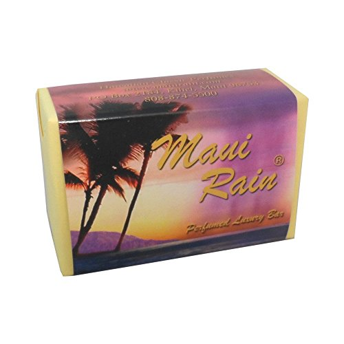 Maui Rain Luxury Bath Bar Soap Hawaiian Classic Perfumes