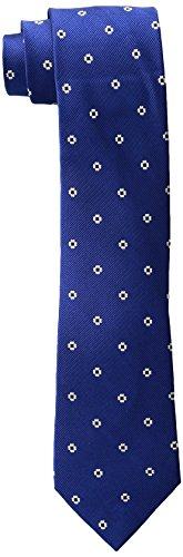 (Rooster Men's Neat Necktie, Blue, One Size)