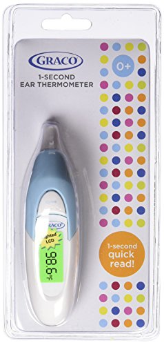 amazon com graco 1 second ear thermometer baby rh amazon com Mercury Thermometer Mercury Thermometer