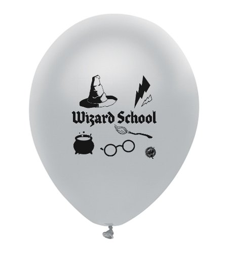Harry Potter Party Themed Wizard School Theme Latex Balloons 18 Count Made in USA by guarateeing100percentnow (Image #8)
