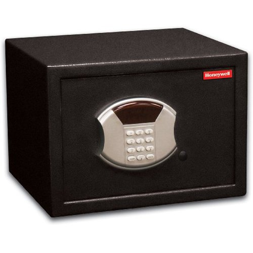 Honeywell Safes & Door Locks - 5113 Steel Security Safe with Hotel-Style Digital Lock, 0.50-Cubic Feet, Black by Honeywell Safes & Door Locks