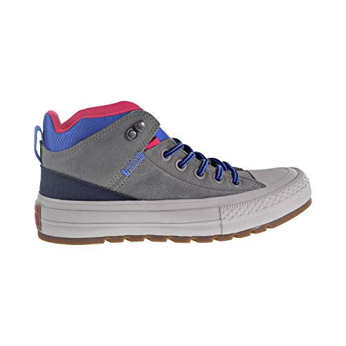 Converse Chuck Taylor All Star High Top Sneaker Boot, Mason/Obsidian/Pink pop, 11 M US