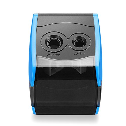 SMARTRO Electric Pencil Sharpener, Best USB or Battery Operated Heavy Duty for No.2 and Colored Pencil Photo #3
