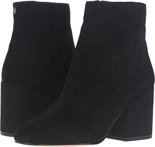 Sam Edelman Women's Taye Ankle Boot, Black Suede, 9 Medium US ()