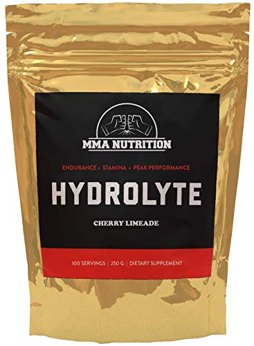 Hydrolyte Cherry Limeade - Sugar Free Electrolyte Powder with Magnesium, Potassium and Sodium - Boost Endurance and Reduce Fatigue with This Electrolyte Supplement - 100 Servings - Maximum - Reduce Fatigue