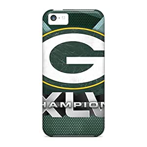Hot Tpu Cover Case For Iphone/ 5c Case Cover Skin - Green Bay Packers