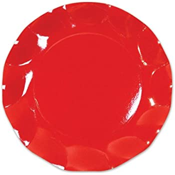 Red Large Plates (10/Pkg)  sc 1 st  Amazon.com & Amazon.com: Ladybug Dinner Plates 8ct: Kitchen u0026 Dining